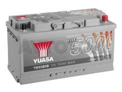 GS Yuasa. 100А.ч., Обратная (левое), производство Европа