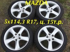 """Mazda. 7.0x17"""", 5x114.30, ET55, ЦО 70,3мм."""
