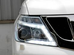 Фары (Рестайлинговые 2014-н. в. ) Nissan Patrol Y62 2010-2017.