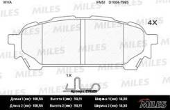 Колодки задние (SUBARU IMPREZA 2.0 11.02-) (без датчика) MILES E110251