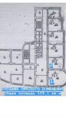 Офисное помещение в центре. Улица Ленинградская 46, р-н Центральный, 109кв.м.