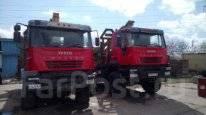 Iveco. Продаётся лесовоз 380 с прицепом, 13 000куб. см., 5 000кг.