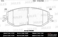 Колодки передние (SUBARU FORESTER 08-/IMPREZA 08-/XV 12-) (без датчика) MILES E100286