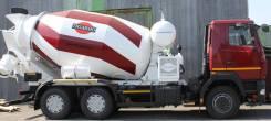 Tigarbo. Автобетоносмеситель 69365А на шасси МАЗ 6312В-5, 9 000,00куб. м.