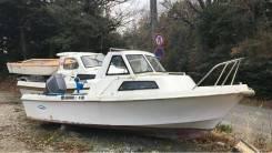 Yamaha Fish 17. Год: 2009 год, длина 5,00м., двигатель стационарный, 80,00л.с., бензин