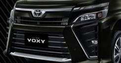 Табличка. Toyota Voxy