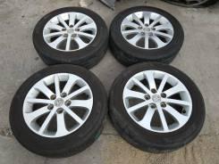 """Комплект колес 205/55R-16 Mazda с летней резиной 2016г. 6.5x16"""" 5x114.30 ET52.5"""