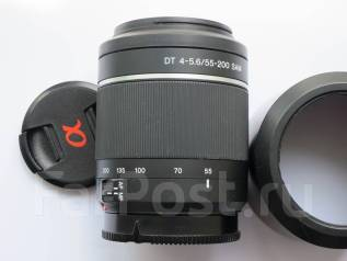 Объектив Sony 55-200. Для Sony, диаметр фильтра 55 мм