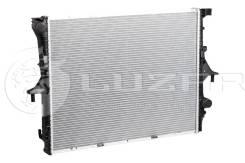 Радиатор охлаждения двигателя. Volkswagen Touareg, 7L6, 7LA Audi Q7, 4LB Porsche Cayenne Двигатели: AXQ, AYH, AZZ, BAA, BAC, BAN, BAR, BHK, BHL, BJN...