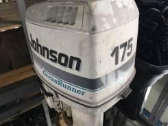 Johnson. 175,00л.с., 2-тактный, бензиновый, нога L (508 мм), 1996 год год