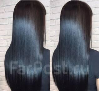 Окрашивание наращивание волос Olaplex Кератин Нанопластика Ботокс