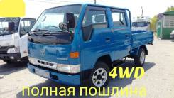 Toyota ToyoAce. Toyota Toyoace 4WD, двухкабинник + борт, 2 000куб. см., 1 500кг.
