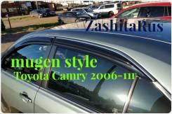 Ветровик на дверь. Toyota Camry, ACV40, ACV45, AHV40, ASV40, GSV40 Двигатели: 2ARFE, 2AZFE, 2AZFXE, 2GRFE. Под заказ