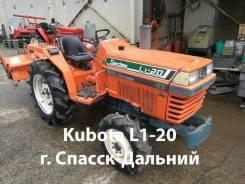 Kubota L1-20. Японский Мини трактор с фрезой г. Спасск-Дальний, 20 л.с. Под заказ