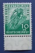 1949 Германия. Американо-Британская окуп. зона. 1 марка Чистая