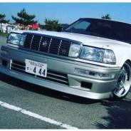 Передний бампер Evolution для Toyota Crown 130 от CarKit Style