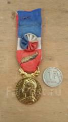 Медаль Франция.