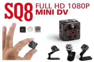 Мини видеокамера SQ8. 10 - 14.9 Мп, с объективом. Под заказ