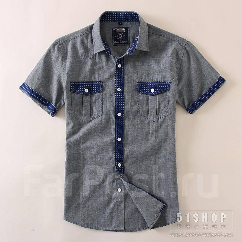 Рубашки и сорочки мужские Размер  48 размера - купить во Владивостоке.  Цены! Фото. f7fa58b064e