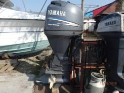 Yamaha. 80,00л.с., 4-тактный, бензиновый, нога L (508 мм), 2000 год