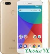 Xiaomi Mi A1. Новый, 32 Гб, Желтый, Золотой, 3G, 4G LTE, Dual-SIM