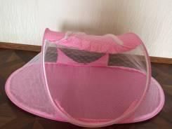 Кроватка от комаров переносная, портативная