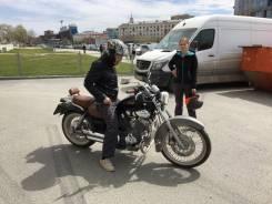 Прокат мотоцикла Yamaha Чоппер. Без водителя