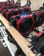 Ферма 6 видеокарт MSI Nvidia GeForce GTX 1070 Ti