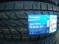Toledo TL6000. Грязь AT, 2017 год, без износа, 4 шт