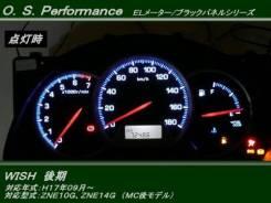 Шкалы приборов для Toyota Wish ZNE10/14 (тюнинг). Toyota Wish, ANE10, ANE10G, ZNE10