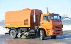 Кургандормаш КО-318Д. Вакуумная подметально-уборочная машина КО-318Д, 7 000куб. см.