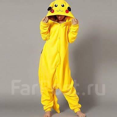 Пижама (кигуруми) Пикачу Покемон - Одежда для дома и сна во Владивостоке 2acf374f1064e