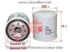 Фильтр масляный c1139 Sakura арт. C1139