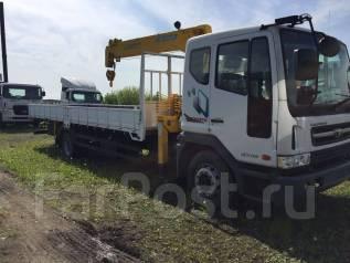Daewoo Novus. Новый бортовой грузовик 2014 г. с манипулятором Soosan, 6 000куб. см., 7 000кг.