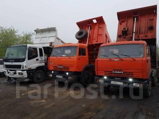Услуги самосвала выбор 15-25тон вывоз мусора грунта16м3