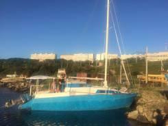 Продается парусно-моторная яхта (индивидуальный проект). Длина 8,40м., 2016 год год