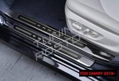 Накладка на порог. Toyota Camry, ASV70, AXVA70, AXVH70, GSV70, ASV71 Двигатели: A25AFKS, A25AFXS, 6ARFSE, 2ARFE, 2GRFKS