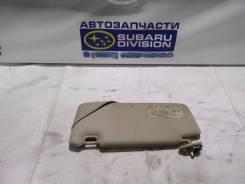 Козырек солнцезащитный. Subaru Legacy, BL5, BP5, BP9, BP, BL, BPE Двигатели: EJ25, EJ20, EZ30D, EJ253, EZ30, EZ30F