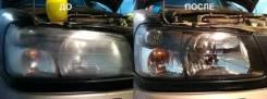 Полировка тонирование и ремонт фар (оптики) бамперов и др