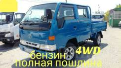 Toyota ToyoAce. Toyota Toyoace 4WD, двухкабинник + борт, 2 000 куб. см., 1 500 кг.