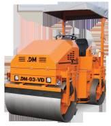 Завод ДМ DM-03-VD. Каток тротуарный DM-03-VD