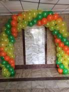 Воздушная арка из шаров
