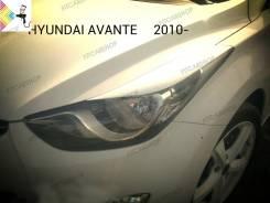 Накладка на фару. Hyundai Elantra, GD, JK, MD, UD Hyundai Avante Двигатели: G4FG, G4NB