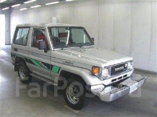Toyota Land Cruiser. механика, 4wd, 3.4, дизель, 70тыс. км, б/п, нет птс. Под заказ