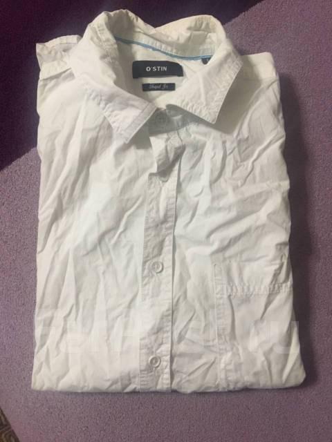 1a74b66a10f Рубашка с коротким рукавом белая - Основная одежда во Владивостоке