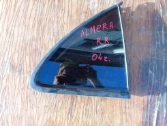 Стекло боковое. Nissan Bluebird Sylphy Nissan Almera Classic, N16 Nissan Almera, N16, N16E Двигатель QG15DE