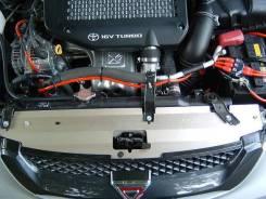 Дефлектор радиатора. Toyota Caldina