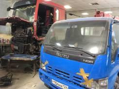 Кузовной ремонт кабин грузовой техники спецтехники легковые авто