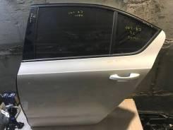 Дверь задняя левая Skoda Octavia III (A7)