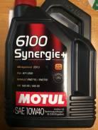 Motul 6100 Synergie+. Вязкость 10W-40, полусинтетическое